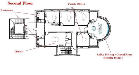 Starship Floor Plans by Virtual Tour The Stocker Astroscience Center