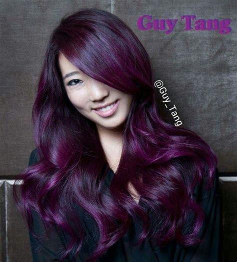 amethyst hair color amethyst hair color hair ideas purple balayage