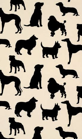 dog pattern wallpaper madison humphrey dog flock velvet wallpaper mdh 100