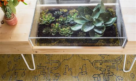 Diy Terrarium Coffee Table A Beautiful Mess Terrarium Coffee Table
