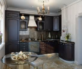 Small Kitchen With Dark Cabinets by Pictures Of Kitchens Traditional Dark Espresso Kitchen