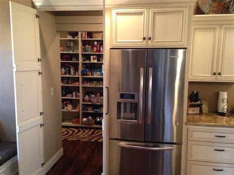 Hidden Pantry Storage Transitional Kitchen Other