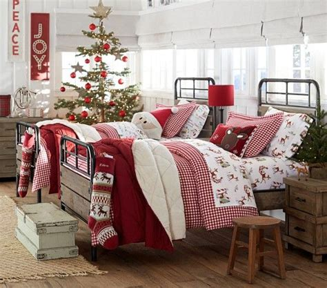 christmas bedroom themed bedding for twin beds from
