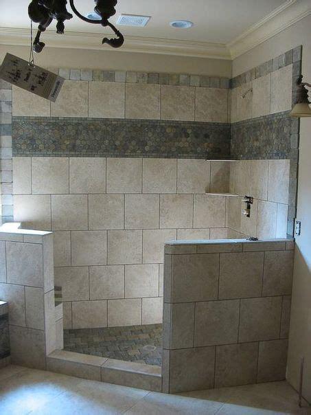 Bathroom Border Ideas by Bathroom Shower Tile Idea Top And Middle Borders