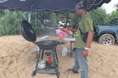 Alat Pembakar Makanan jazz di pantai tidak masalah mldspot
