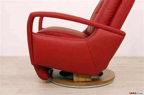 poltrona girevole poltrona relax manuale moderna reclinabile con girevole