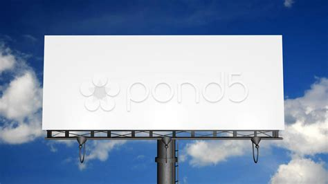 motion 5 typography templates blank billboard with motion clouds hd 2886609