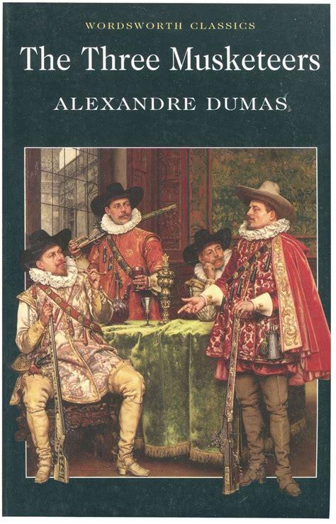 the three musketeers alexandre dumas books
