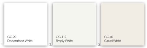 shades of white paint oc 117 simply white