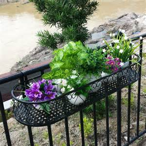 popular balcony railing planters from china best selling balcony railing planters suppliers