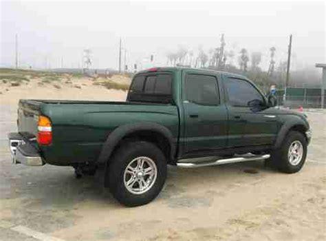 2001 Toyota Tacoma Fuel Economy Buy Used 2001 Toyota Tacoma Pre Runner Crew Cab 4