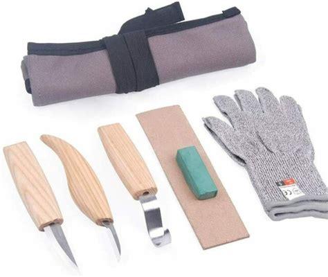 pcs wood carving tools set   hook sloyd detail