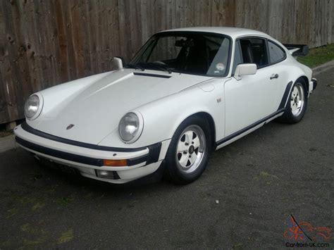 classic porsche black 1983 porsche 911 3 0 coupe classic white black leather taxed
