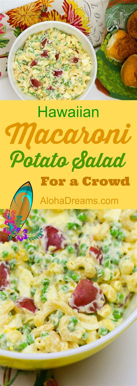 40 delicious cooking for a crowd recipes page 3 macaroni potato salad aloha dreams