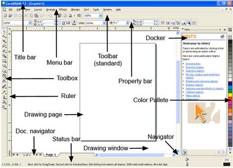 mengatur tata letak layout dokumen mangatur tata letak pencetakan corel draw belajar grafis