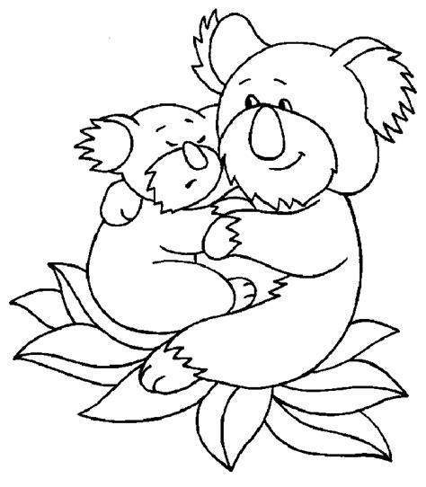 barbie koala coloring page free printable koala coloring pages for kids