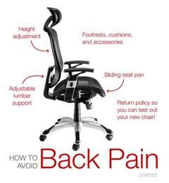 Office Chair For Back Sufferer Delighful Desk Chair For Back Office Chairs 80 About