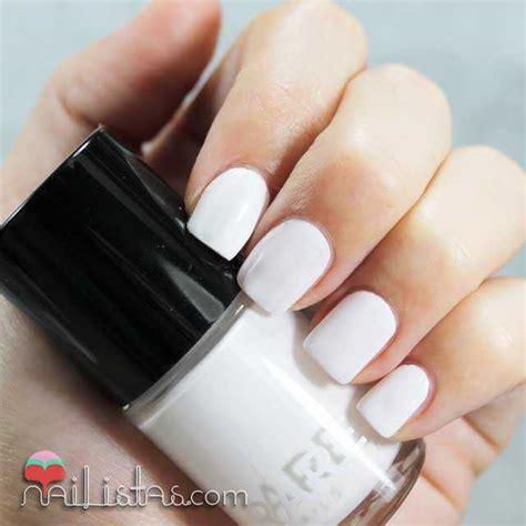imagenes de uñas pintadas de blanco u 241 as de lunares con el pack polkatastic de rare nails