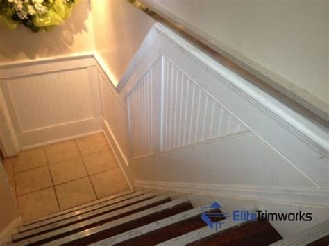 Pre Cut Wainscoting Beaded Panel Wainscoting An Elite Trimworks Exclusive