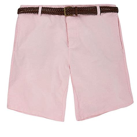 light pink shorts mens light pink belted chino shorts shorts sale