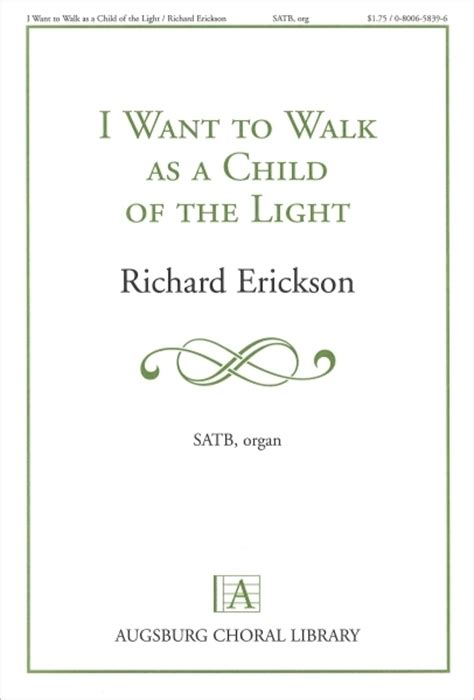 I Want To Walk As A Child Of The Light by I Want To Walk As A Child Of The Light