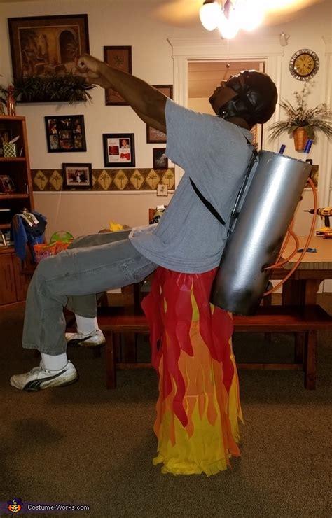 homemade rocket man costume photo