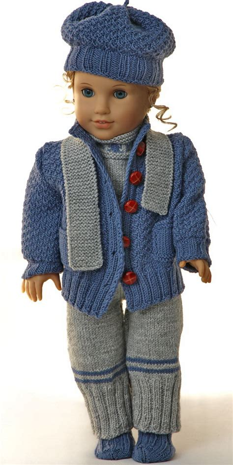 American Doll Knitting Patterns