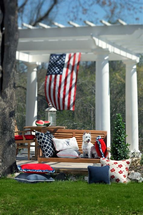 flag decorations for home 17 best images about patriotic outdoor decor on pinterest