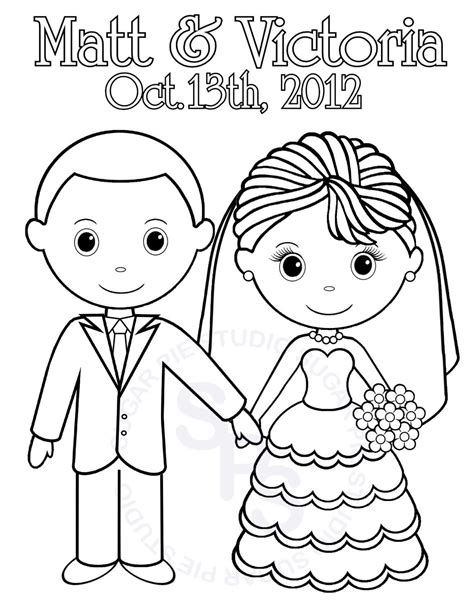 Printable And Groom Coloring Pages by Printable Wedding Coloring Pages Coloring Home