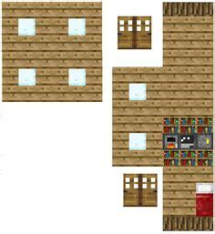 House Papercraft - papercraft minecraft house papercraft houses
