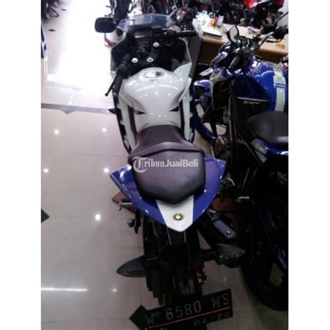 Lu Tembak Motor Murah Surabaya motor yamaha r15 putih biru second tahun 2015 harga murah surabaya dijual tribun jualbeli