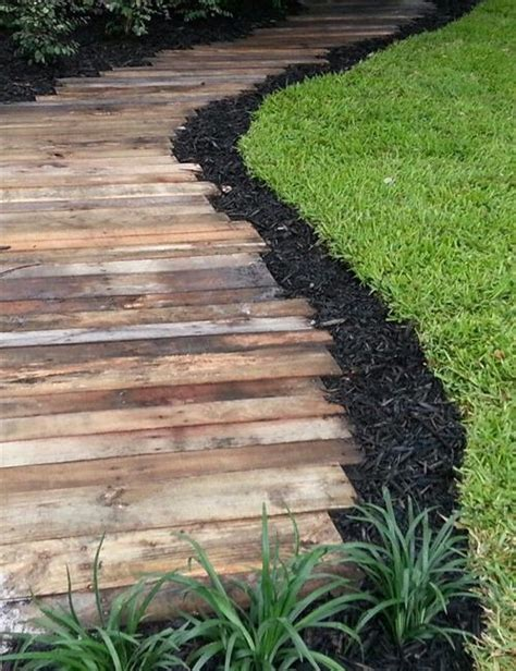 garden pathways ideas garden path comfy project on h3 shipping pallet projects make home gorgeous pallets designs