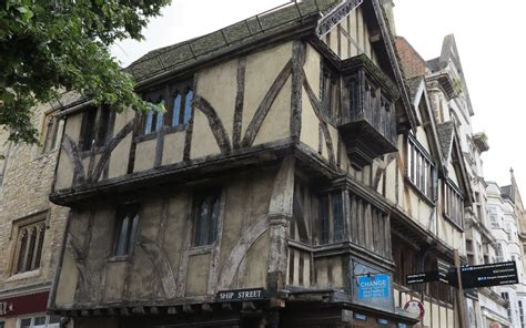 tudor building charming quaint oxford double barrelled travel