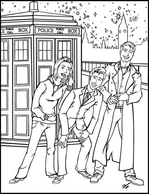 doctor who coloring pages az coloring pages