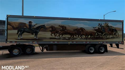 kenworth truck and trailer kenworth w900a truck and uncle d reefer trailer with