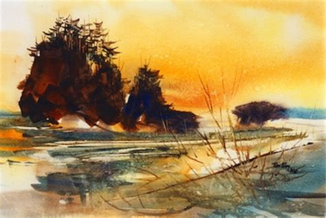 water color artists tom fong watercolorpainting