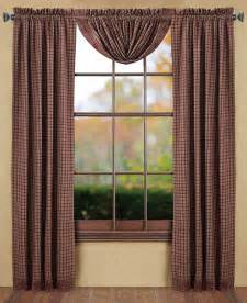 Primitive Window Curtains Country Style Curtains