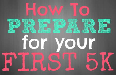 Your To 5k by How To Prepare For Your 5k