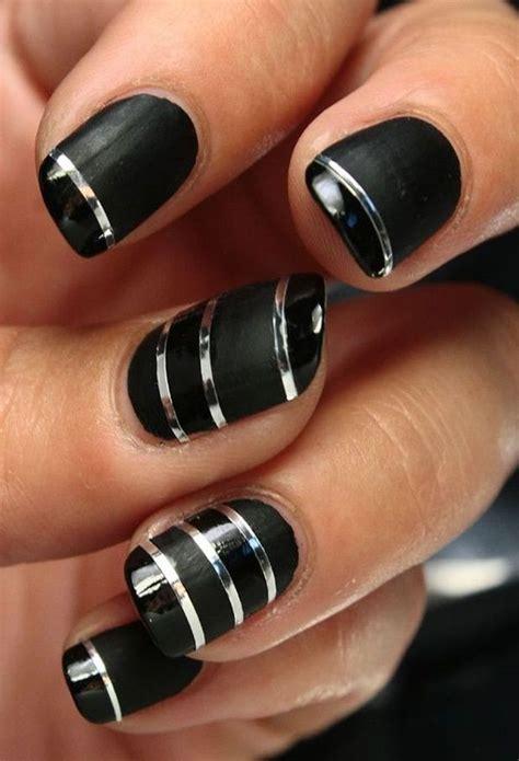nail art for february for women over 40 40 classy black nail art designs for hot women black
