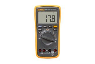 17b Fluke Digital Multimeter Ac Voltage 400mv To 1000v fluke 17b digital multimeter