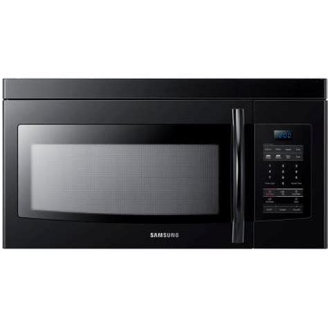 samsung 1 6 cu ft the range microwave in black