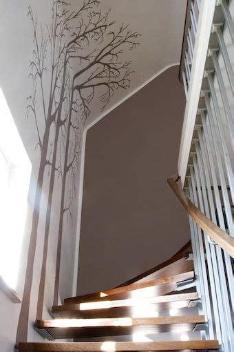 treppenhaus wandgestaltung die besten 20 treppenhaus streichen ideen auf