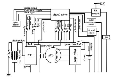 Jx300 5e Atv Digital Meters Of Motorcycle Parts Buy