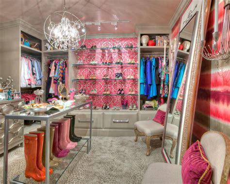 Pink Walk In Closet by 19 Luxury Closet Designs Hgtv