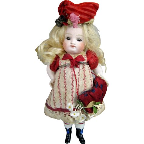 early bisque doll early all bisque german kestner pouty doll mignonette
