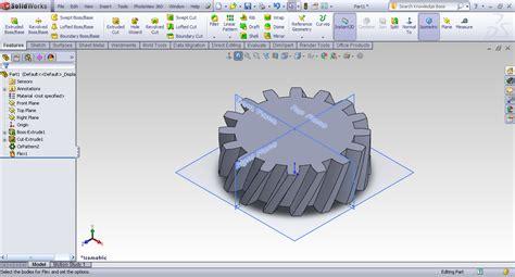 tutorial design solidwork tutorial creating herring bone gear in solidworks grabcad