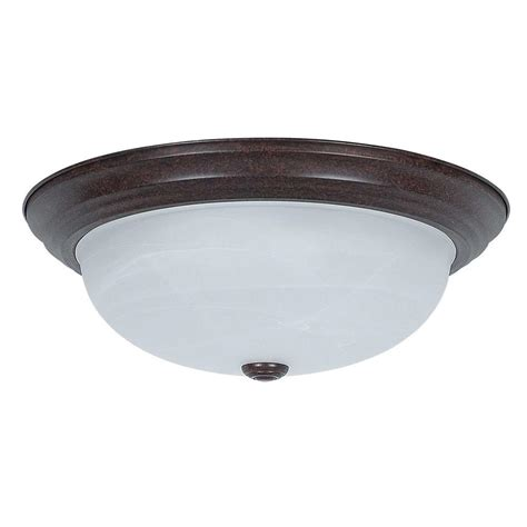 glomar klarissa 2 light sudbury bronze flush mount cli
