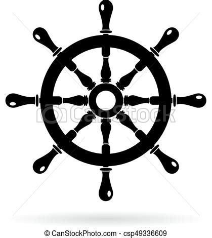 boat steering wheel drawing boat steering wheel vector icon isolated on white background