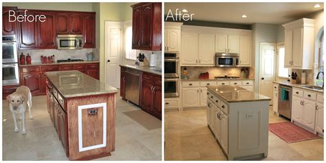 painting cabinets white before and after charming ideas painting kitchen cabinets white before and