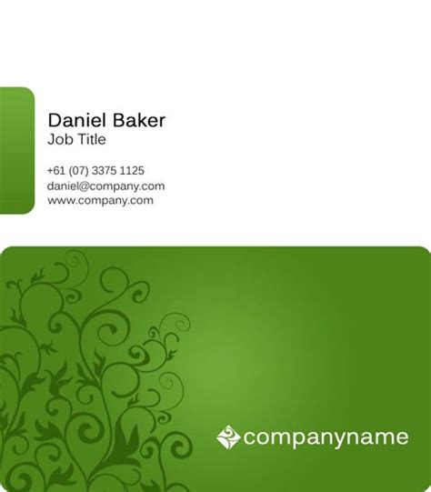 Professional Business Cards Templates For Photoshop Professional Postcard Templates